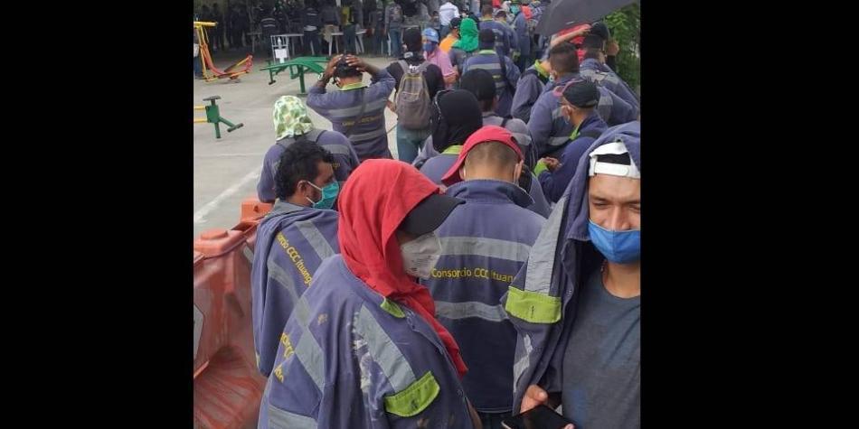 En Hidroituango se registran más casos de covid-19 que en Medellín
