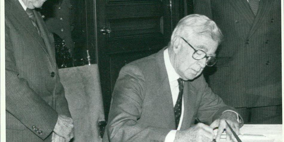 Adiós a Germán Montoya, el poder en el gobierno de Virgilio Barco