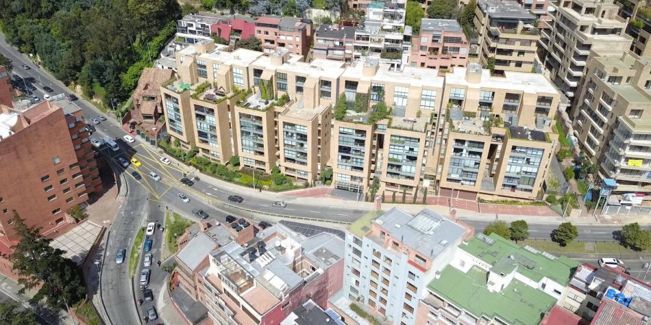 Uso de zonas libres y vencimientos de los arrendamientos en edificios