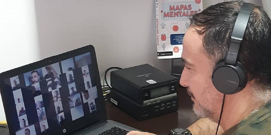 El innovador método de trabajo de Flavio Robatto en confinamiento