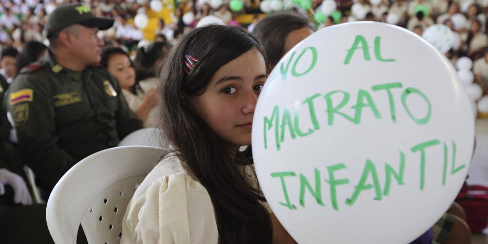 Violencia contra niños en Colombia es crítica, según Aldeas Infantiles