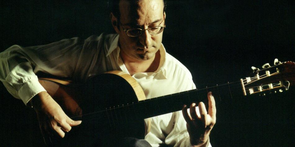 Guitarrista español Manuel Granados