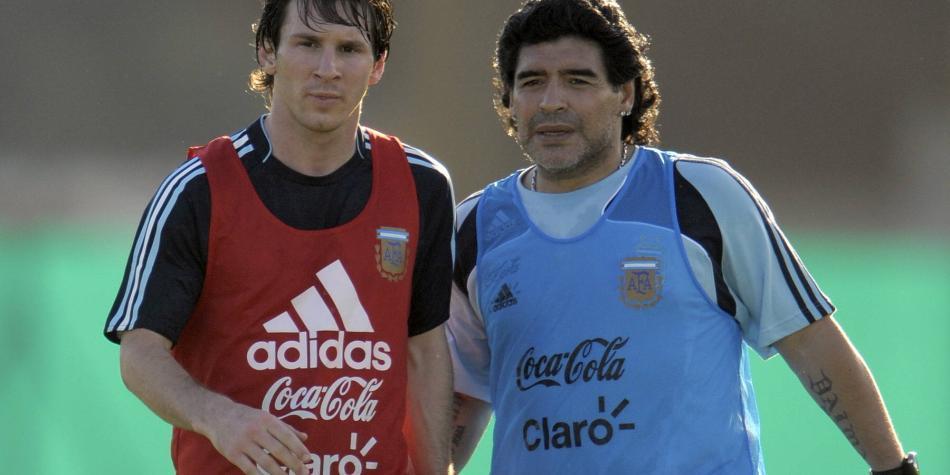 No apto para sensibles: palabras de Messi por la muerte de Maradona