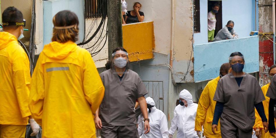 Los barrios más indisciplinados durante la cuarentena en Colombia