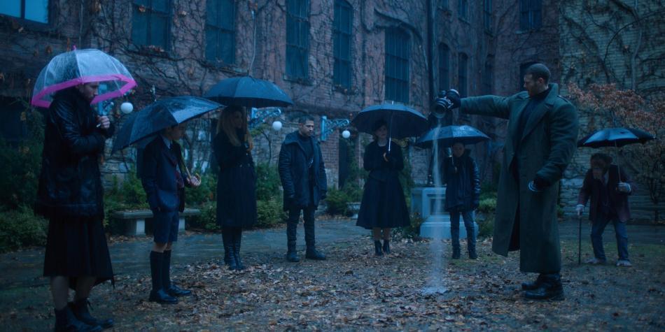 'The Umbrella Academy': héroes oscuros para adultos