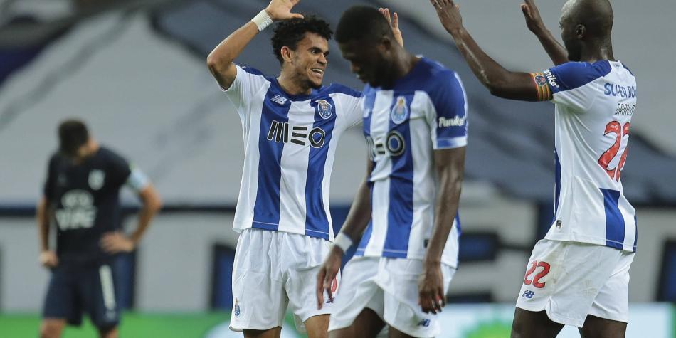 El golazo que hizo Luis Díaz para que Porto esté a un paso del título