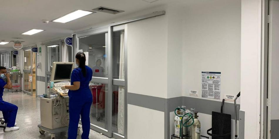 Antioquia declara alerta roja hospitalaria por ocupación de camas UCI