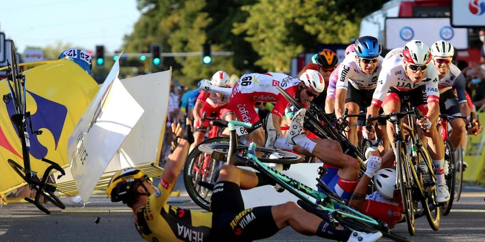 UCI condenó el comportamiento peligroso de Groenewegen en Polonia