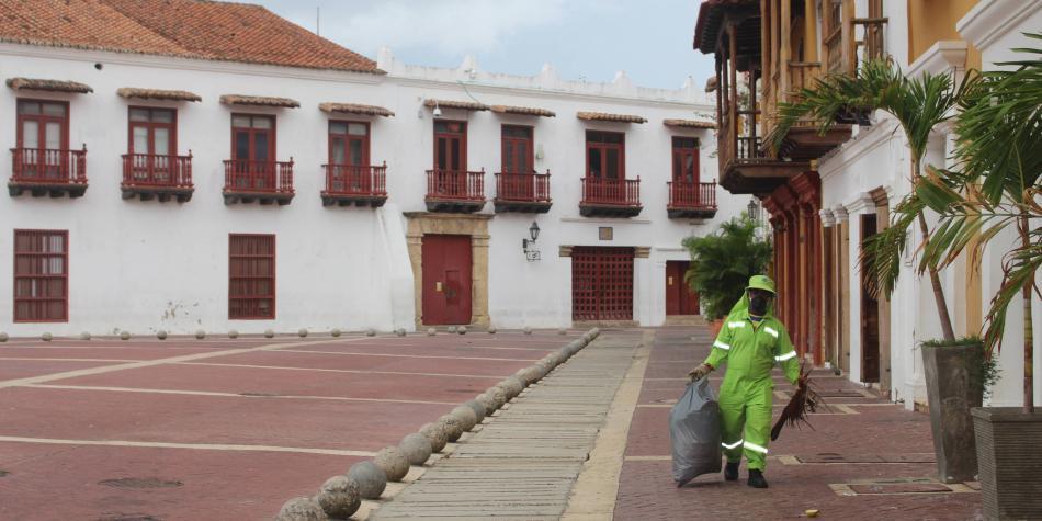 Cartagena mejora cifras en la lucha contra el coronavirus
