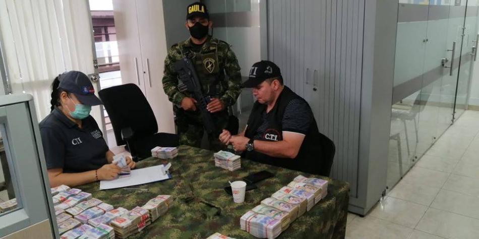 Capturan a hombre que transportaba más de $1.000 millones, en Tuluá