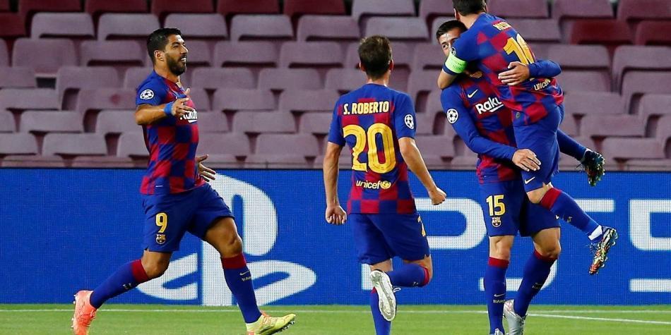 De la mano de Messi, Barcelona sigue camino en la Liga de Campeones