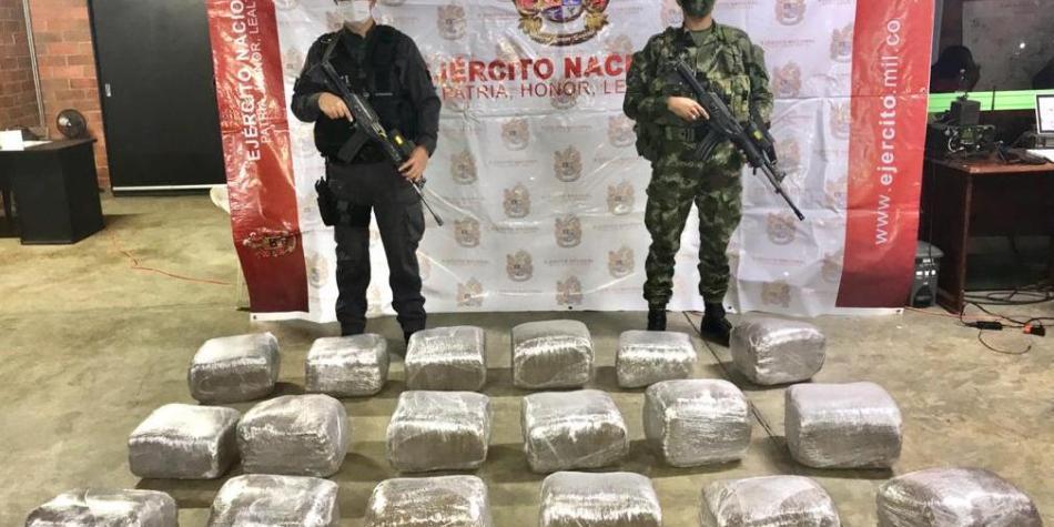 Fuertes golpes contra el narcotráfico en el norte del Cauca