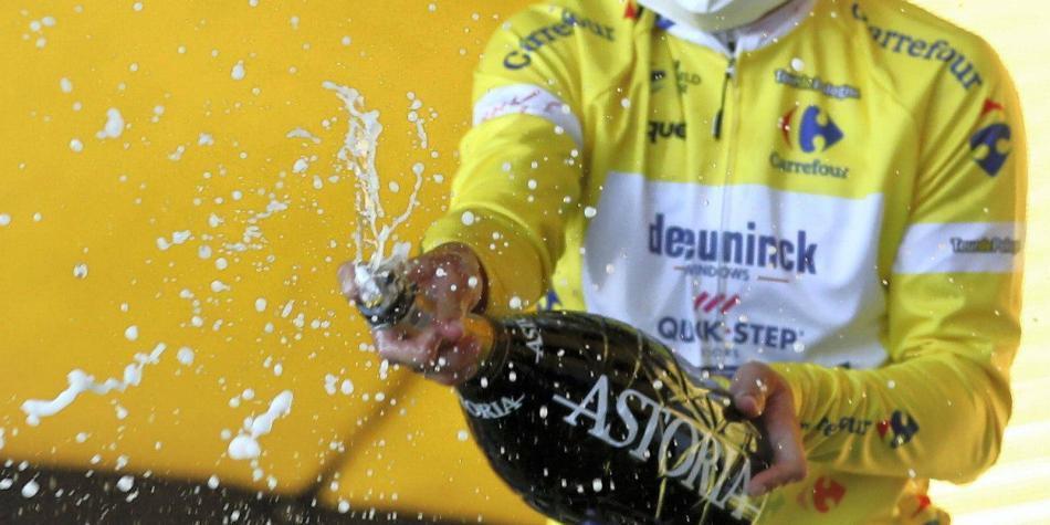 Remco Evenepoel ganó la Vuelta a Polonia: cuatro de cuatro