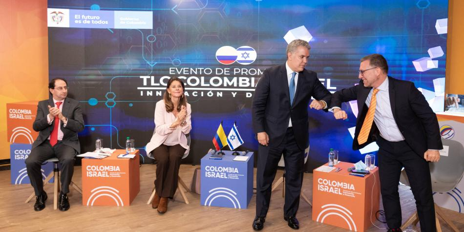 TLC entre Colombia e Israel entró en vigencia este lunes