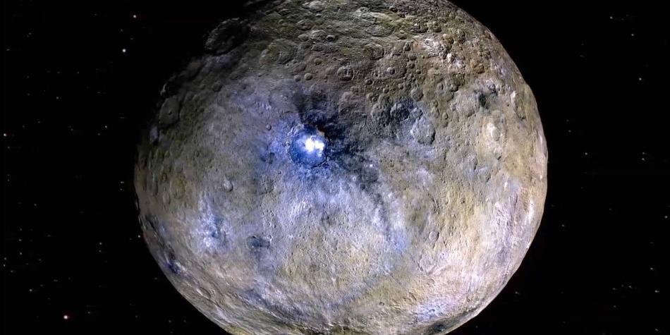 Proponen a Ceres, planeta enano, como un hábitat a gran escala