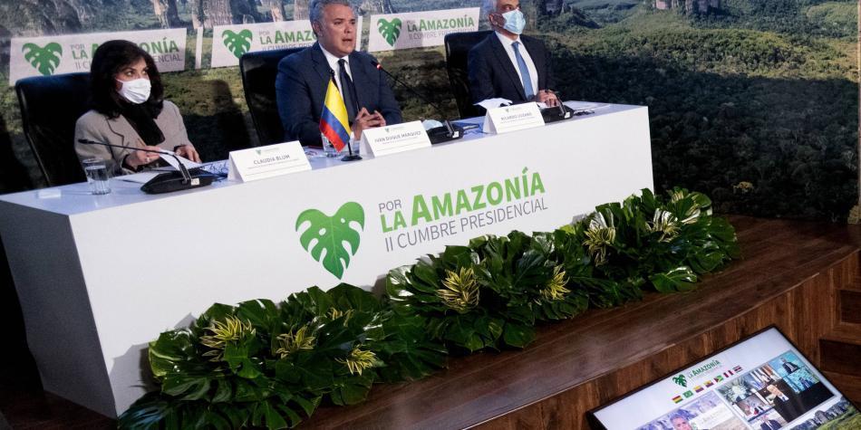 Cumbre de países amazónicos para revisar el Pacto de Leticia