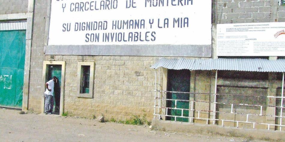 Reclusos ataron sábanas para intentar fugarse de la cárcel en Montería