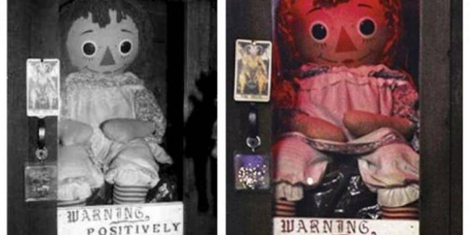 Falso: muñeca Annabelle no desapareció del museo de los Warren