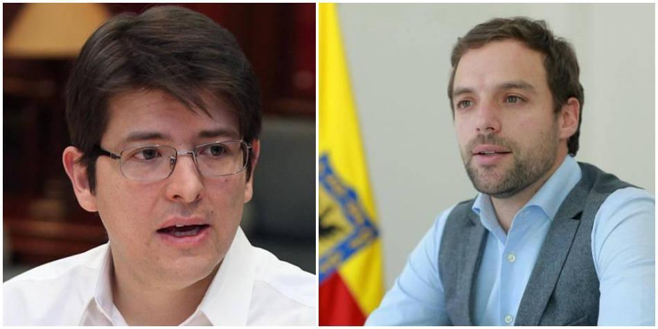 Rifirrafe entre Miguel Uribe y Luis Ernesto Gómez por UCI en Bogotá
