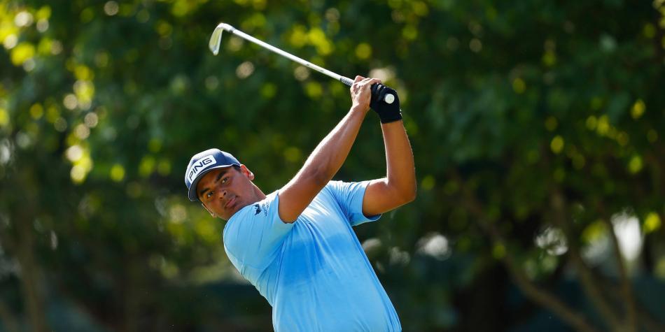 Sebastián Muñoz toma el liderato del torneo PGA ZoZo Championship
