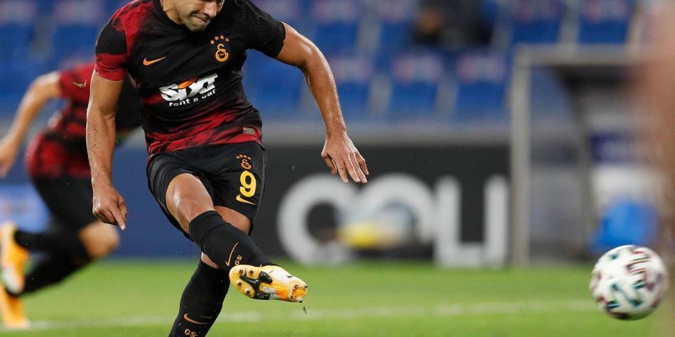 Falcao le hace un llamado a Queiroz: nuevo gol con Galatasaray