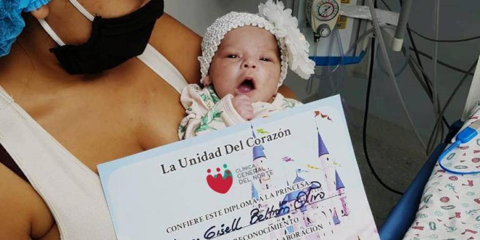 Así fue como sobrevivió una bebé llamada Luana