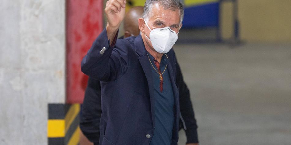 Sentidas palabras de Carlos Queiroz para despedirse de la Selección