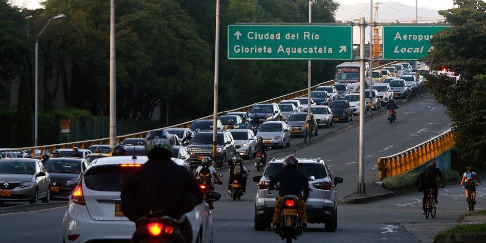 Así será el pico y placa en Medellín para el mes de marzo
