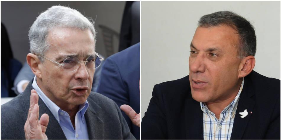 Álvaro Uribe y Roy Barreras