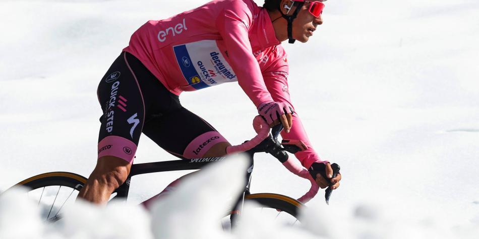 Ni en la etapa reina del Giro de Italia pudieron con Almeida