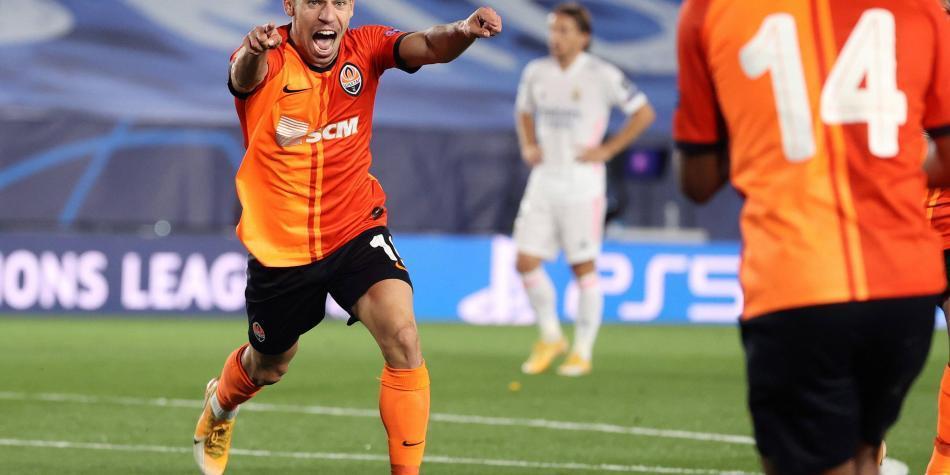 ¿No necesitaban a James? Real Madrid cayó 2-3 con Shakhtar