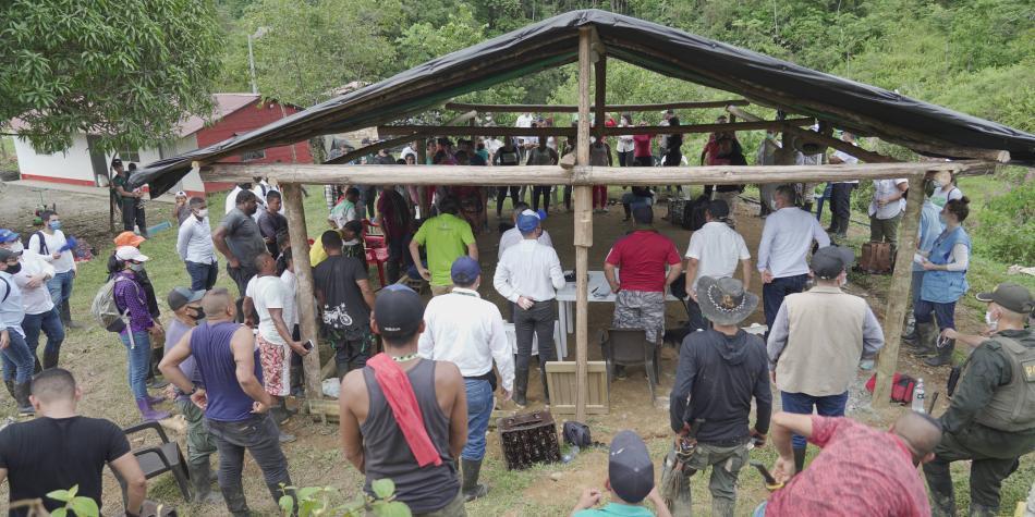 Excombatientes en Mutatá, Antioquia, tendrán casas nuevas