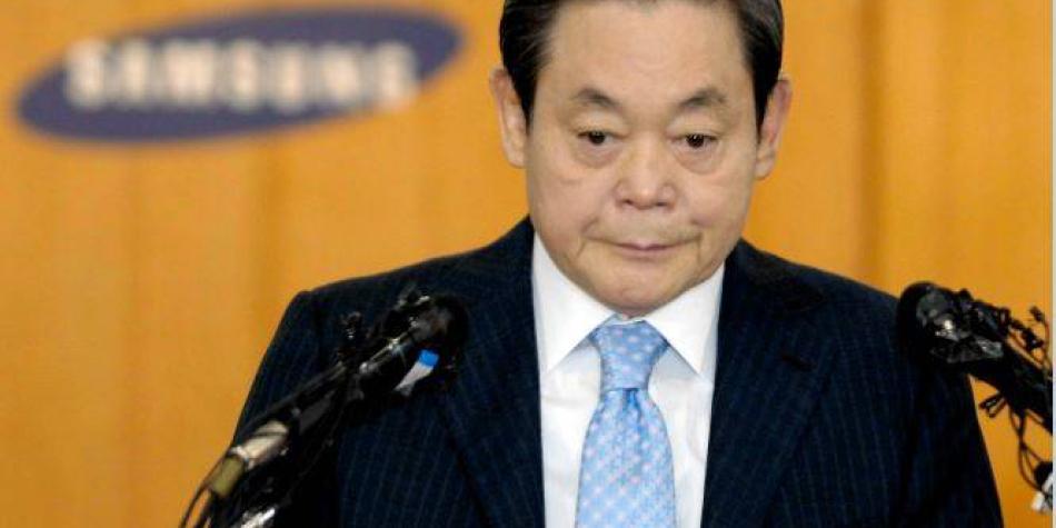 ¿Quién era Lee Kun-hee, el millonario presidente de Samsung que murió?