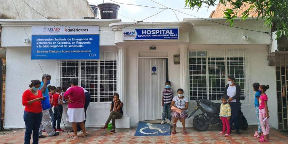 Inauguran centro médico para migrantes venezolanos en Valledupar