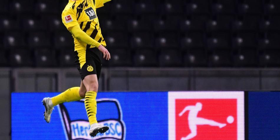 Haaland, póquer de oro: cuatro goles para impulsar al Dortmund