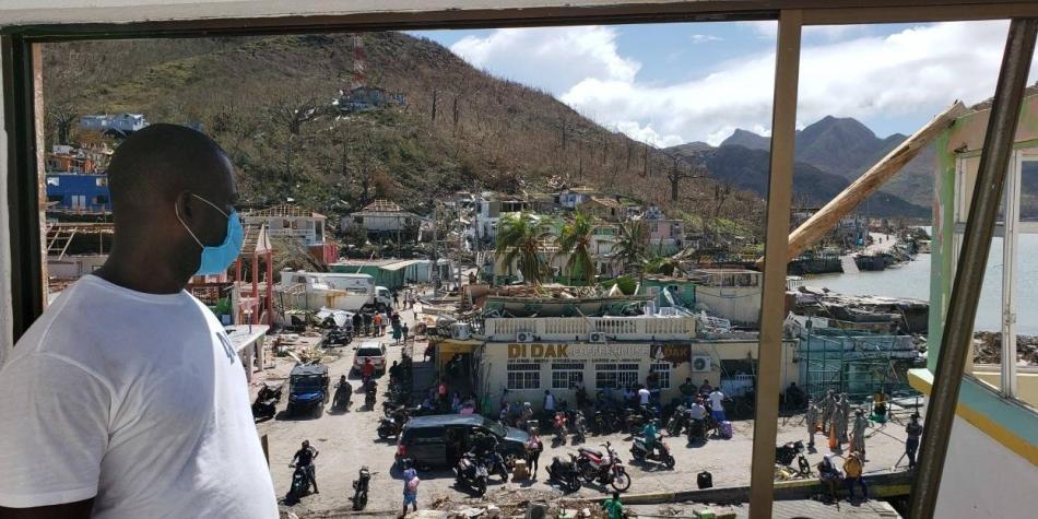 Campaña de donación de la U. del Rosario por damnificados en las islas
