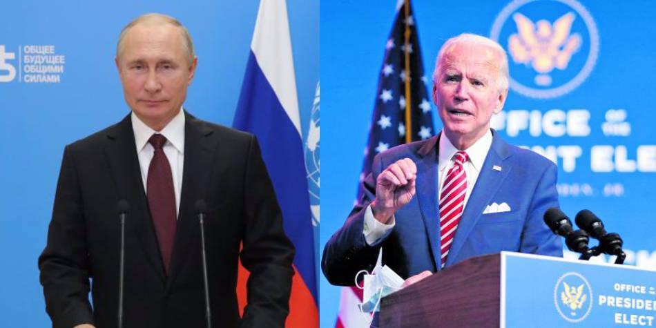 Biden exige a Putin rebajar tensión con Ucrania tras llamada telefónica -  EEUU - Internacional - ELTIEMPO.COM
