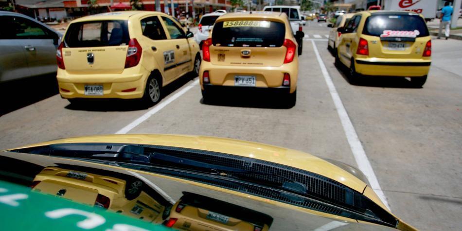 Sindicato de taxistas en Barranquilla no se unen a la jornada de paro