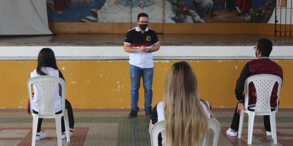 Así es la 'nueva normalidad' en las clases de colegios de Barranquilla