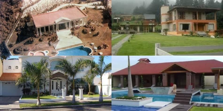 Las lujosas casas que les han confiscado a los narcos mexicanos