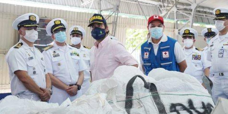 250 toneladas de ayudas salieron desde Barranquilla para San Andrés