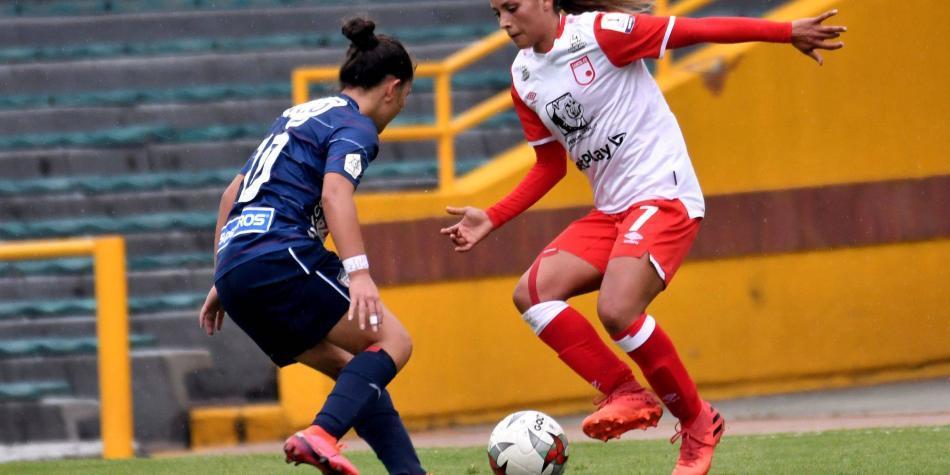 Las leonas de Santa Fe, América y DIM, a semifinal de la liga femenina