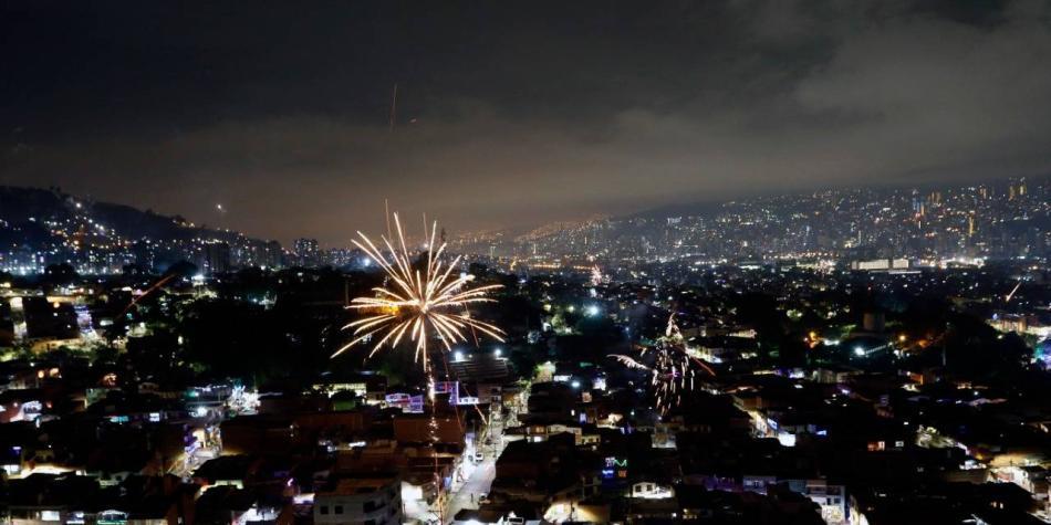 Pese a prohibiciones, Medellín volvió a recibir diciembre con pólvora