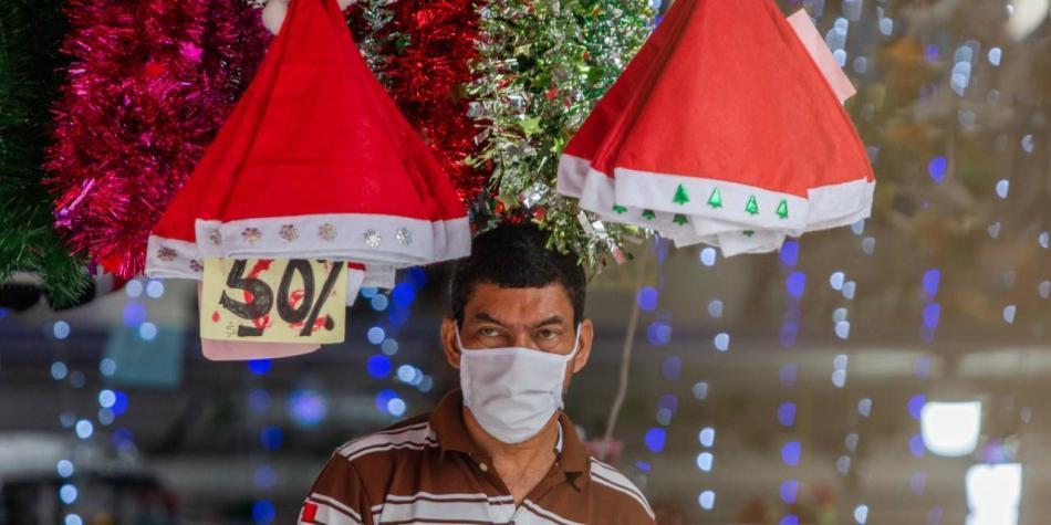 Así es el ambiente navideño que desde ya se vive en Barranquilla