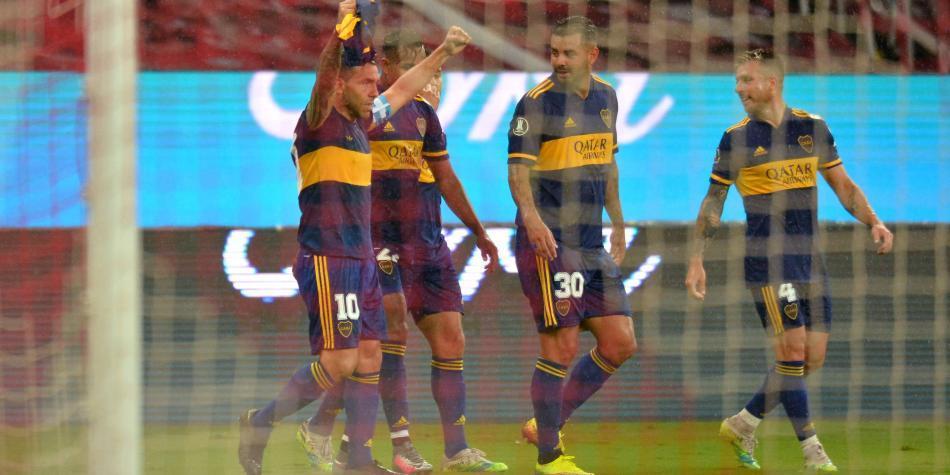 Con los cuatro colombianos, Boca dio un gran paso en la Libertadores