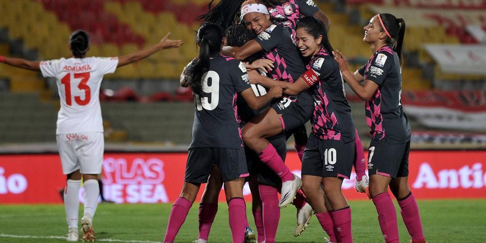 Santa Fe y América, con duros rivales en la Libertadores femenina