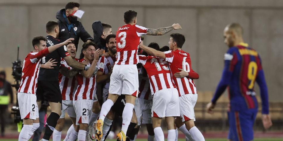 Athletic tumbó al Barcelona y es el campeón de la Supercopa de España
