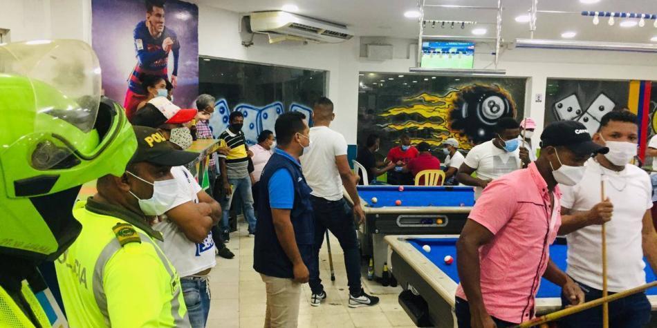 Estos son los bares sancionados en Barranquilla por incumplir medidas