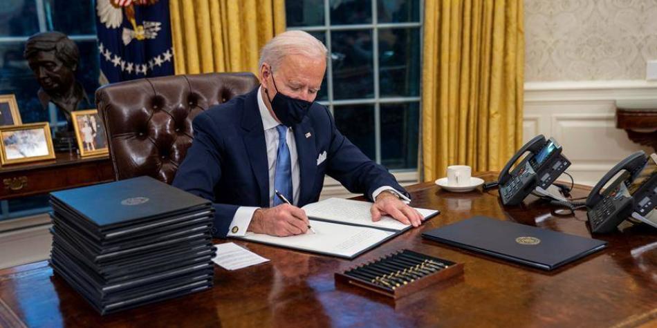 EE UU.: Joe Biden firma decretos sobre medio ambiente y cambio climático -  EEUU - Internacional - ELTIEMPO.COM