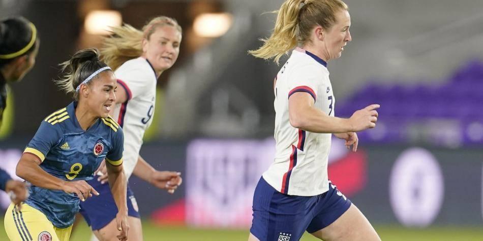 Colosal goleada se llevó la Selección Colombia femenina